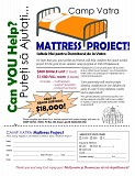 Camp Vatra Mattress Project